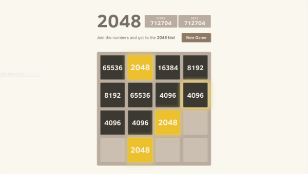 2048 Hack Version
